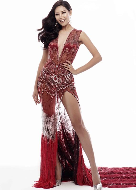 Lo dam da hoi sieu goi cam cua Nguyen Thi Loan tai Miss Universe