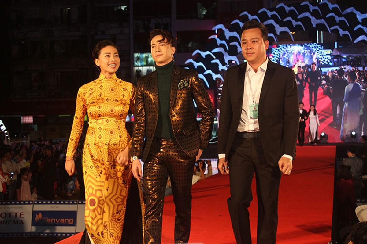 """Trung Anh """"Luong Bong"""" sanh doi cung Thuy Hang tren tham do-Hinh-2"""