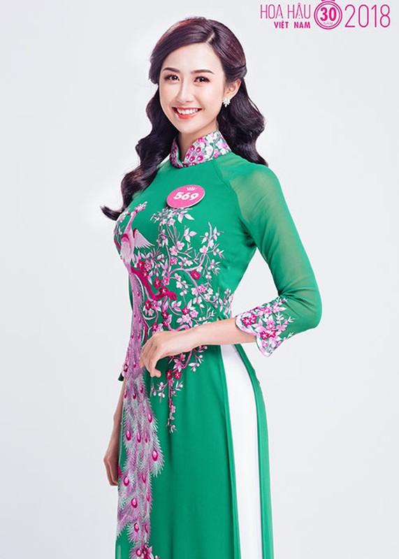 Anh dep nu tiep vien hang khong vao chung ket Hoa hau VN 2018-Hinh-4