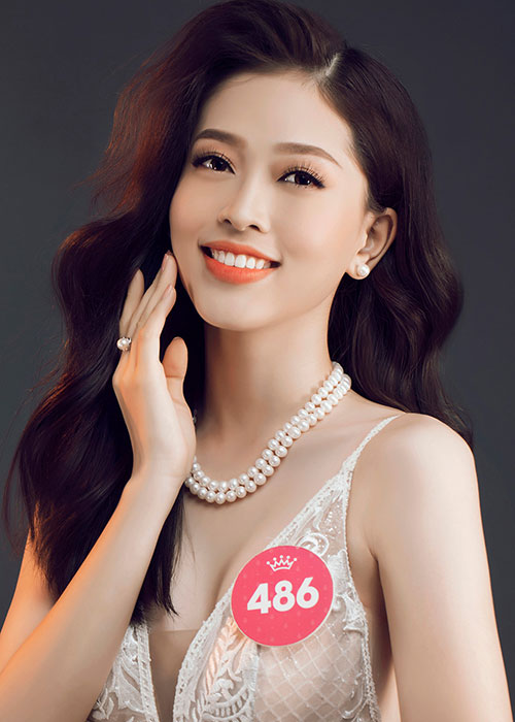 Nhan sac me dam cua ban sao Jennifer Pham tai Hoa hau Viet Nam 2018-Hinh-4