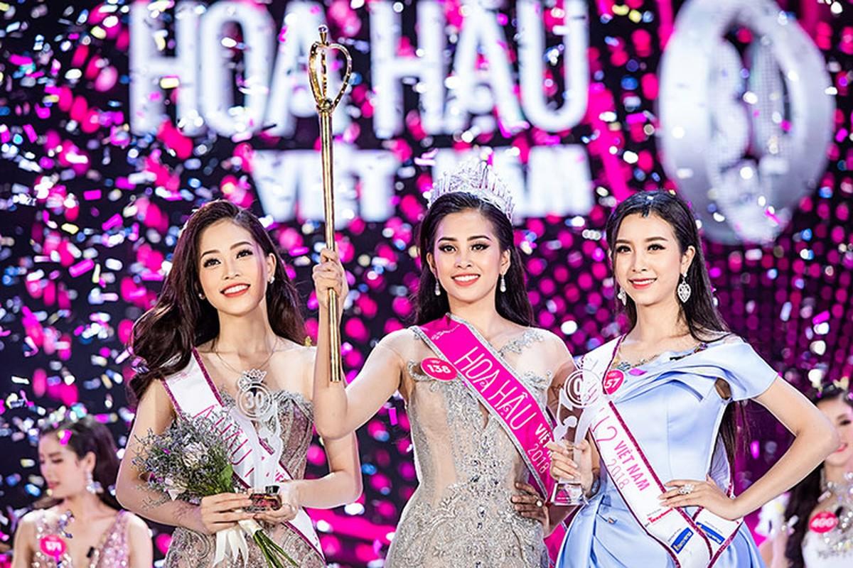A hau 2 Thuy An xinh dep khong kem tan Hoa hau Tran Tieu Vy