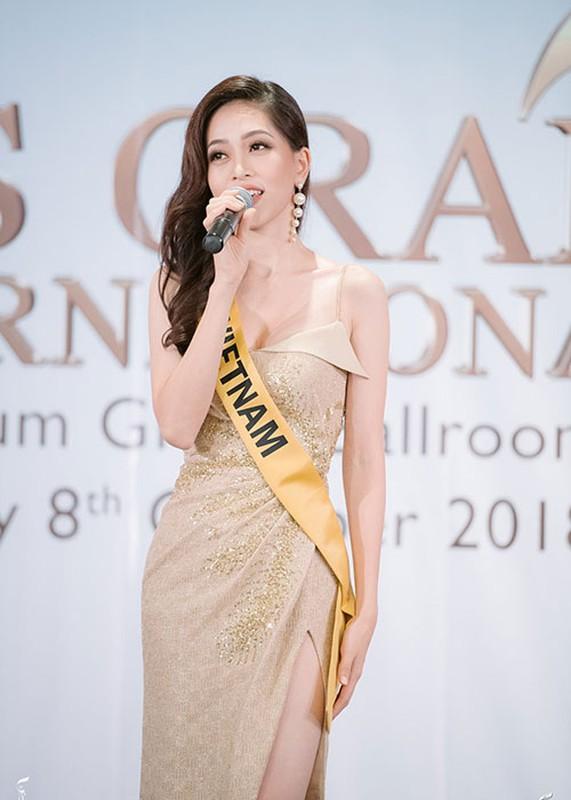 A hau Phuong Nga tro tai ca hat tai Miss Grand International 2018