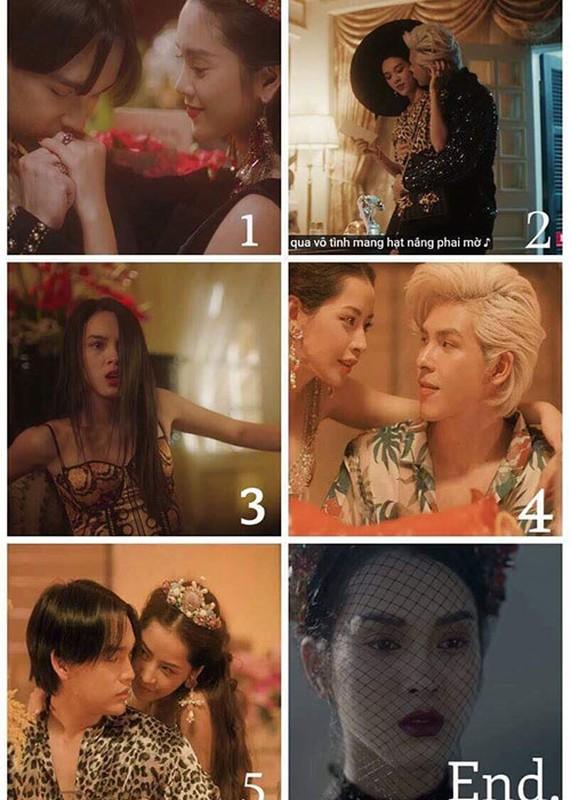 Hot boy dung sau MV gay tranh cai cua Chi Pu la ai?