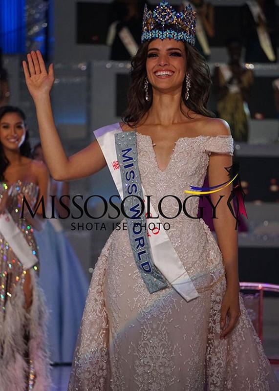 Chan dung nguoi dep Mexico dang quang Hoa hau The gioi 2018