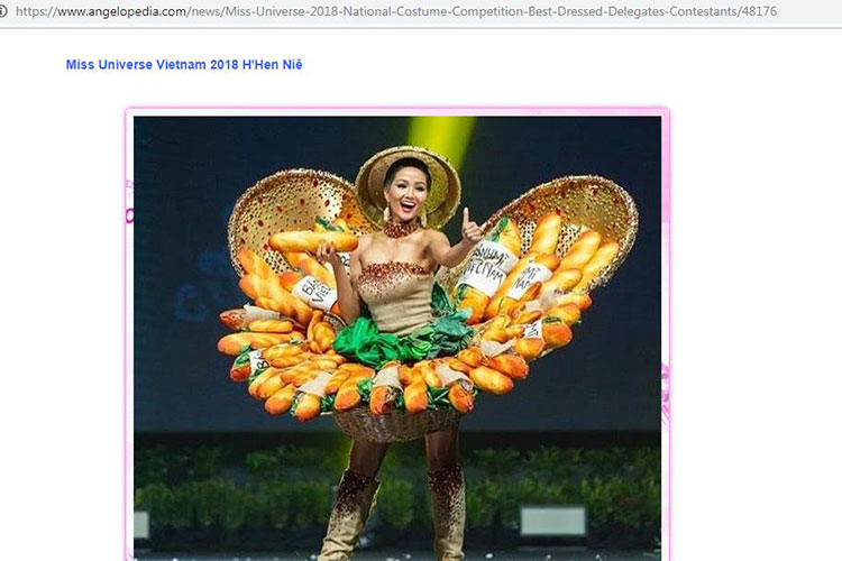 "Quoc phuc ""Banh Mi"" cua H'hen Nie gay sot tren nhieu bao nuoc ngoai-Hinh-6"
