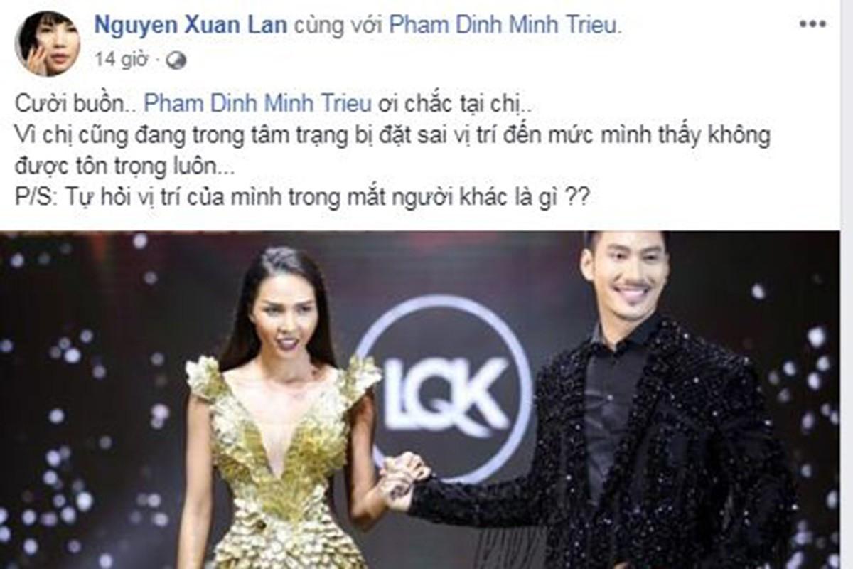 Xuan Lan noi bong gio khong duoc ton trong trong show Ly Qui Khanh-Hinh-5
