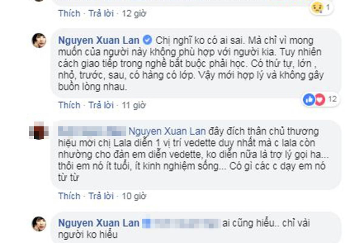 Xuan Lan noi bong gio khong duoc ton trong trong show Ly Qui Khanh-Hinh-7