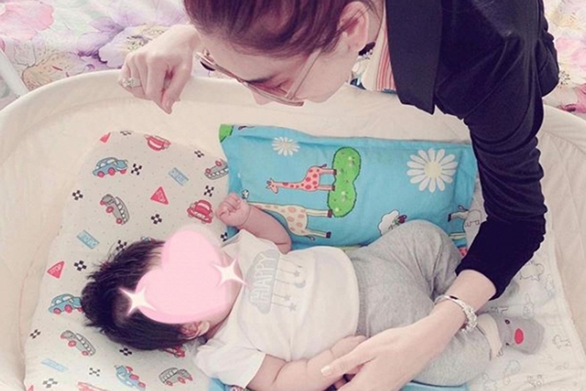 Ngam con trai dang yeu cua my nhan chuyen gioi Lam Khanh Chi-Hinh-2