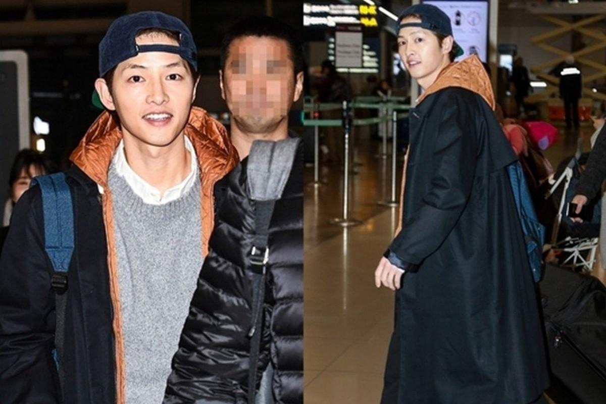 Song Joong Ki xuat hien tuoi tan sau khi phu nhan ly hon-Hinh-7