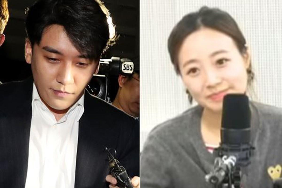 Chan dung co gai khui scandal moi gioi mai dam cua Seungri