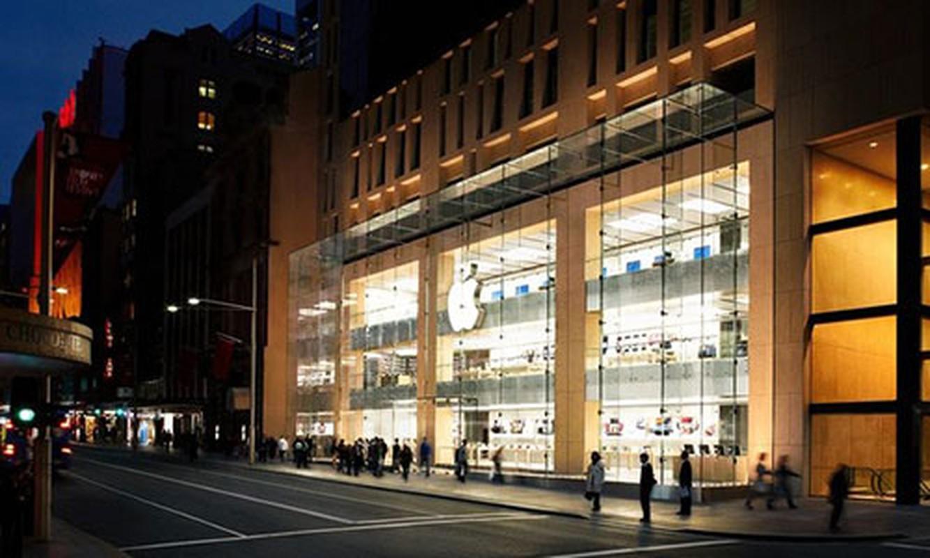 50 Apple Store dep nhat tren the gioi khong nam o nuoc My