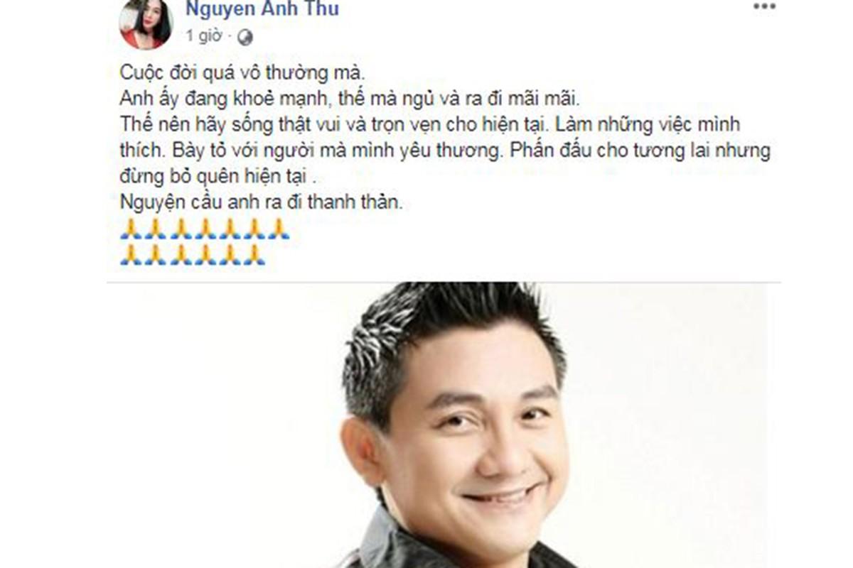 Sao Viet tiec thuong dien vien hai Anh Vu qua doi o tuoi 47-Hinh-11