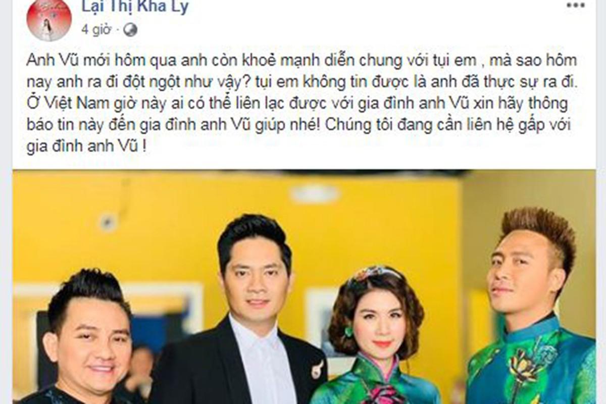 Sao Viet tiec thuong dien vien hai Anh Vu qua doi o tuoi 47-Hinh-3