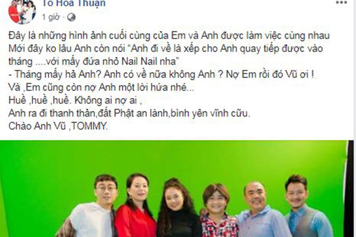 Sao Viet tiec thuong dien vien hai Anh Vu qua doi o tuoi 47-Hinh-4