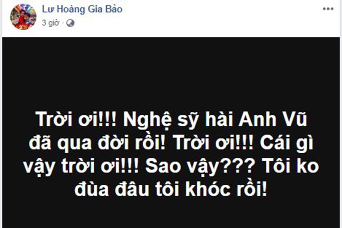 Sao Viet tiec thuong dien vien hai Anh Vu qua doi o tuoi 47-Hinh-8