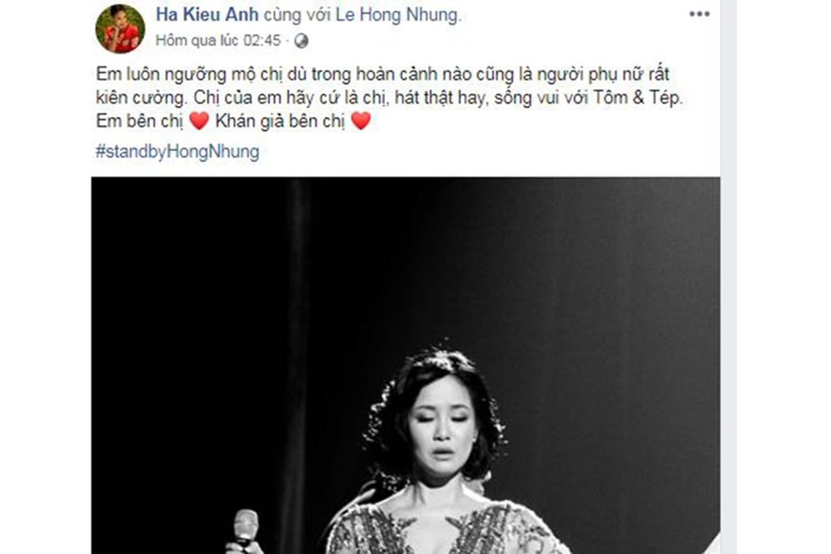 Sau tin chong cu tai hon, Hong Nhung khoe con, duoc ban be dong vien-Hinh-10