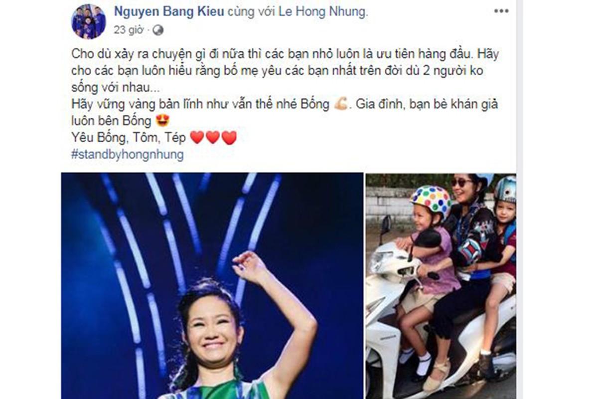 Sau tin chong cu tai hon, Hong Nhung khoe con, duoc ban be dong vien-Hinh-9