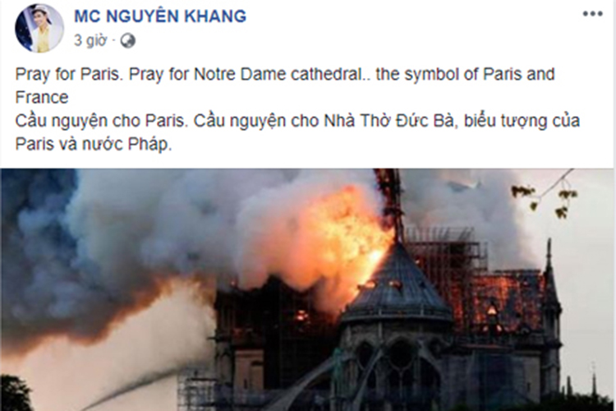 Vu chay Nha tho Duc Ba Paris: Sao Viet dau xot, cau nguyen-Hinh-10