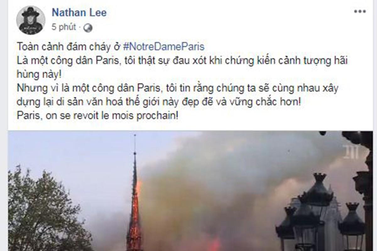 Vu chay Nha tho Duc Ba Paris: Sao Viet dau xot, cau nguyen-Hinh-2