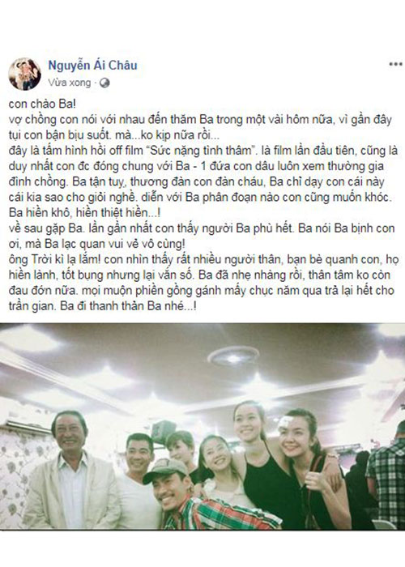 Nghe si Le Binh qua doi, sao Viet dau buon, tiec thuong-Hinh-16