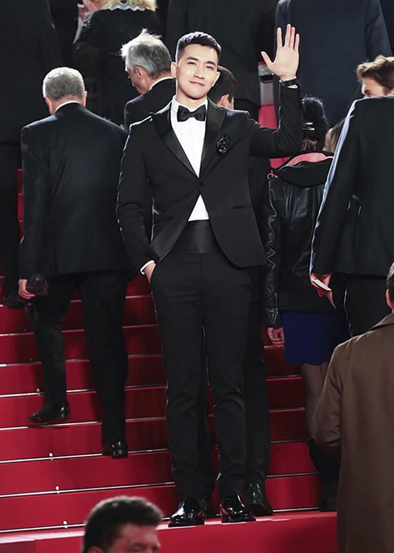 Du Cannes 2019, Truong Thi May mac kin dao, khac han Ngoc Trinh-Hinh-12