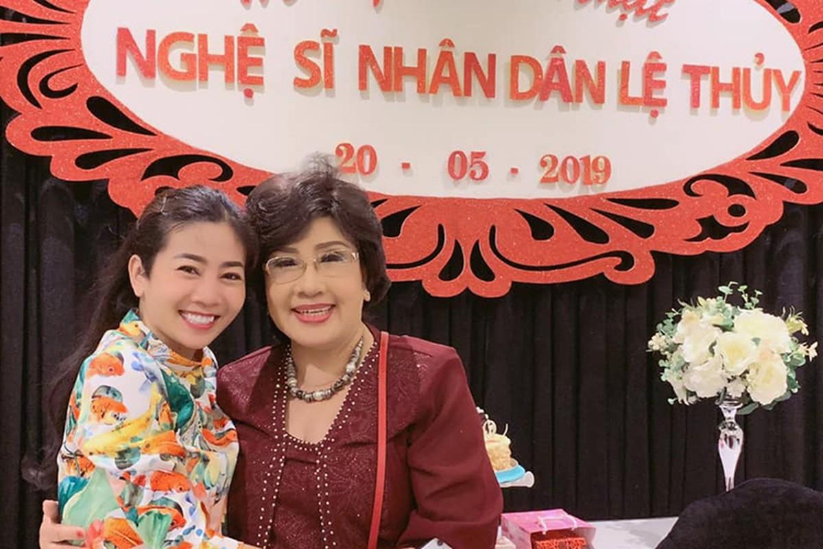Mai Phuong giai thich ly do to chuc sinh nhat som cho con gai-Hinh-8