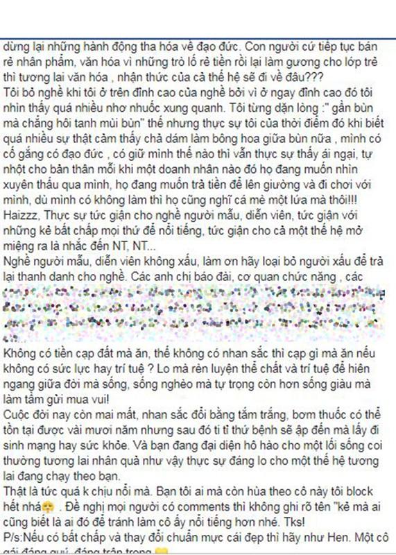 Ngoc Trinh dap tra tham thuy khi bi Vu Thu Phuong chi trich-Hinh-3