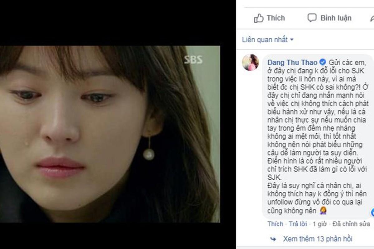 Song Joong ki-Song Hye Kyo ly hon, Sao Viet 'than tho'-Hinh-2