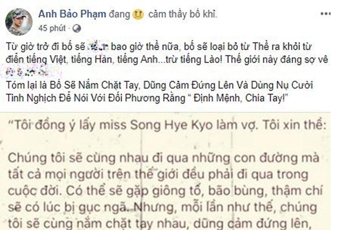 Song Joong ki-Song Hye Kyo ly hon, Sao Viet 'than tho'-Hinh-3