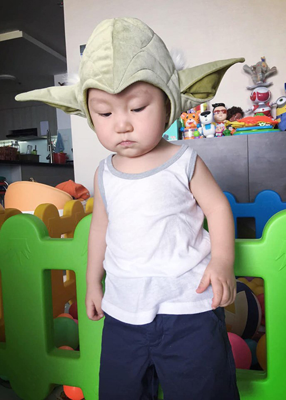 To am hanh phuc, vo dep, con xinh cua Tuan Hung-Hinh-7