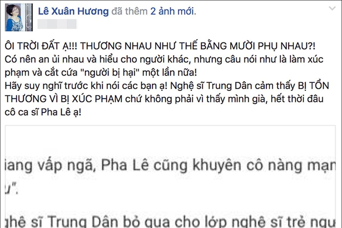 Ngao ngan voi loat on ao doi tu cua NS Xuan Huong - MC Thanh Bach-Hinh-9