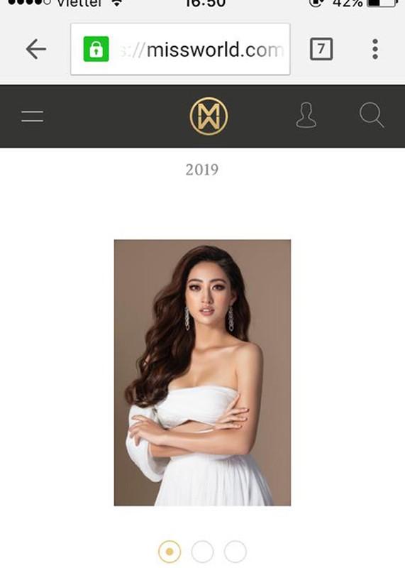 "Hoa hau Luong Thuy Linh ""chao san"" Miss World bang loat anh goi cam"