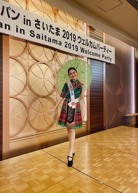 Tuong San khoe tai nhay tai Miss International khien fan quoc te phat sot