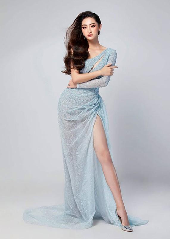 Luong Thuy Linh khoe vay da hoi cho chung ket Hoa hau The gioi 2019-Hinh-2