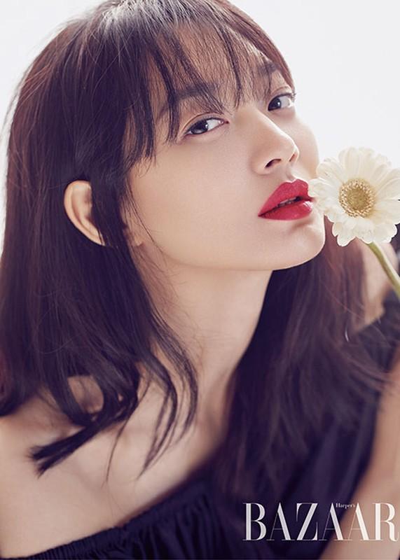 Me man ve dep thuan khiet cua my nhan Han tuoi Giap Ty Shin Min Ah