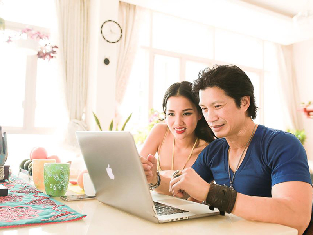 Vo dep, con xinh cua dien vien Dustin Nguyen vua to bi cat vai-Hinh-7