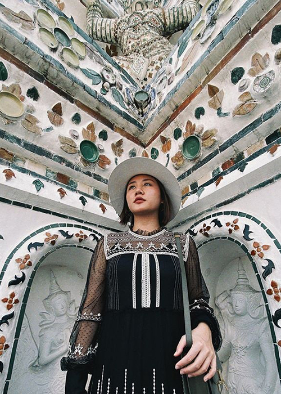 Van Mai Huong khoe anh di du lich sau su co lo clip nhay cam