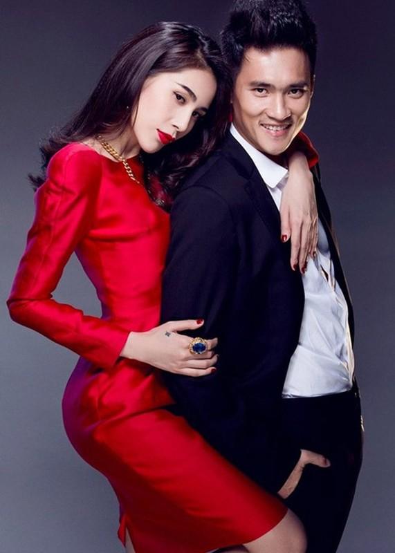 Cong Vinh - Thuy Tien: Cap vo chong troll nhau ba dao nhat showbiz Viet