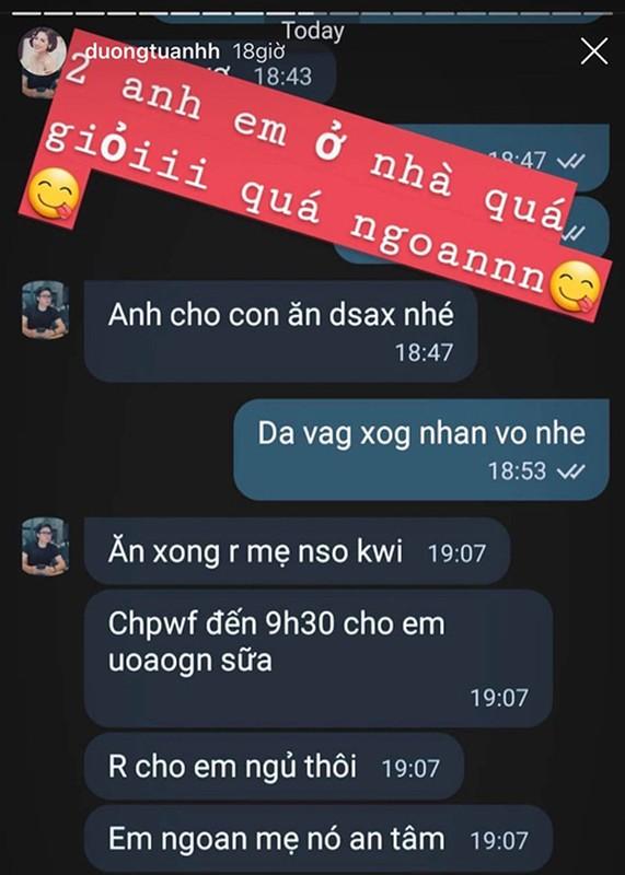 A hau Tu Anh khoe chong cham con cuc kheo, chieu vo het muc-Hinh-10