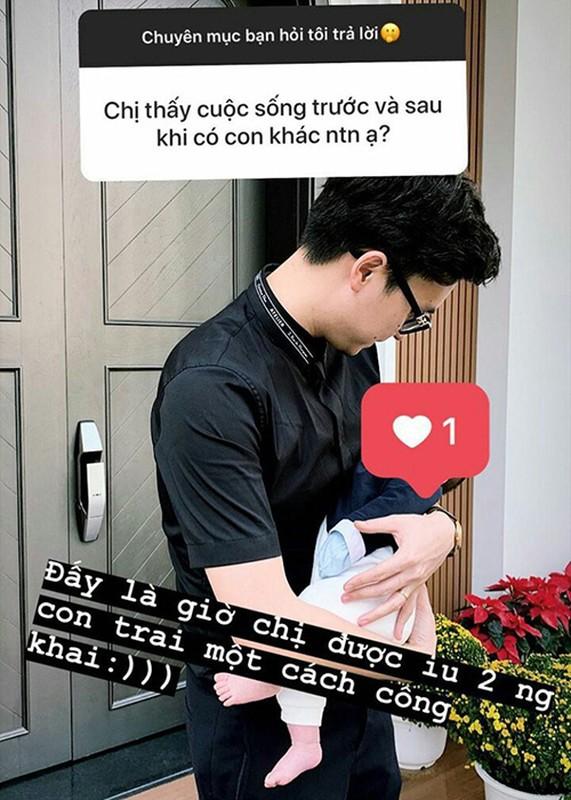 A hau Tu Anh khoe chong cham con cuc kheo, chieu vo het muc-Hinh-9