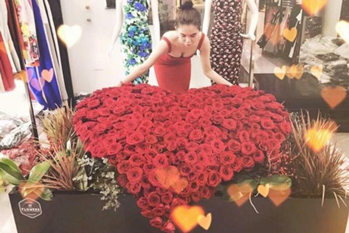 Ngoc Trinh khoe qua Valentine, co tinh moi kem tuoi?-Hinh-9