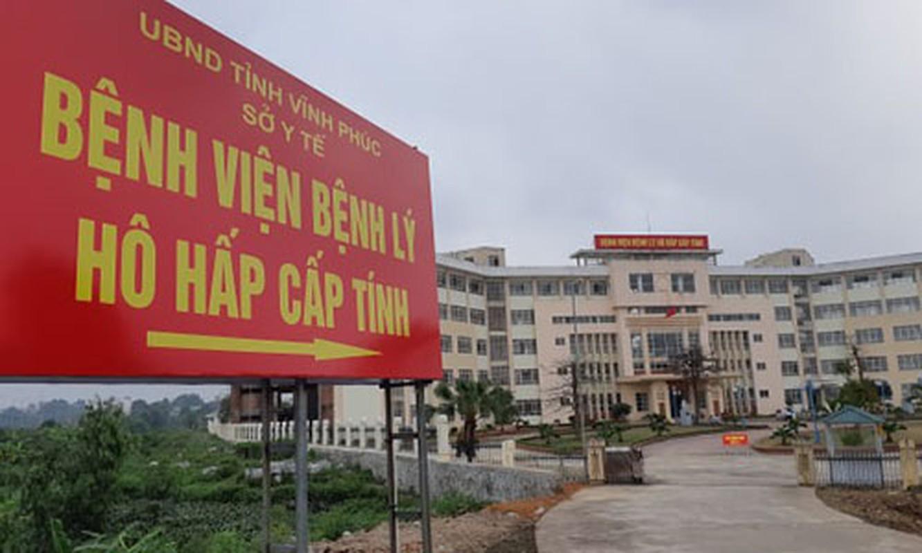 Virus corona viem phoi cap tham nhap Viet Nam: Can canh benh vien da chien o Vinh Phuc