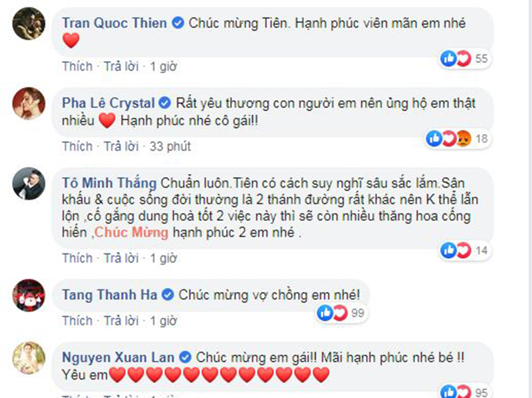 Dong thai dau tien cua Toc Tien sau dam cuoi voi Hoang Touliver-Hinh-2