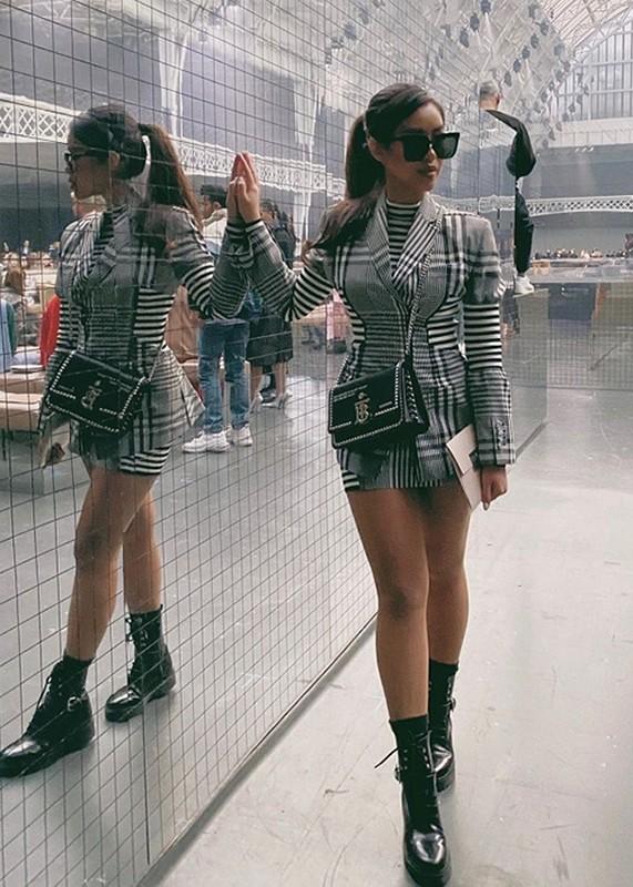 Tien Nguyen sang chanh du show thoi trang tai Milan, London truoc khi cach ly