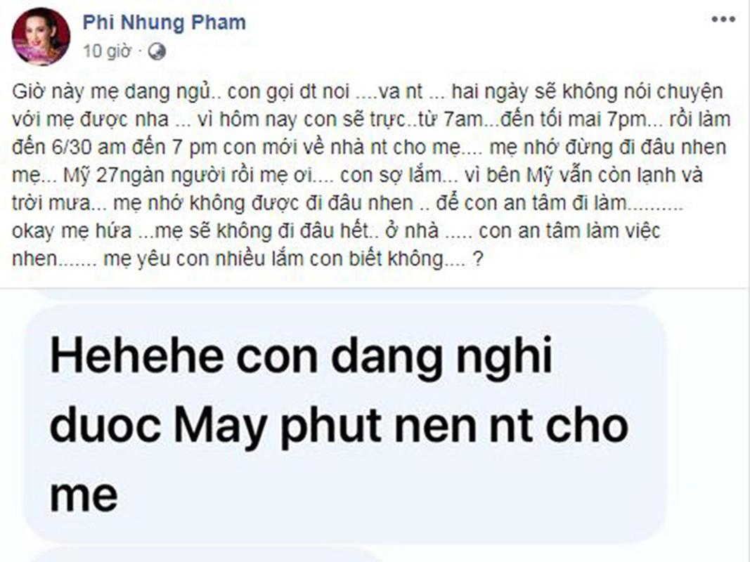 Con gai lam y ta o My lo lang cho Phi Nhung giua dich Covid-19