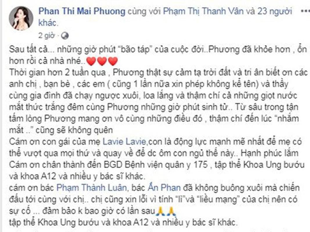 Hanh trinh chong choi ung thu cua dien vien Mai Phuong truoc khi qua doi-Hinh-9