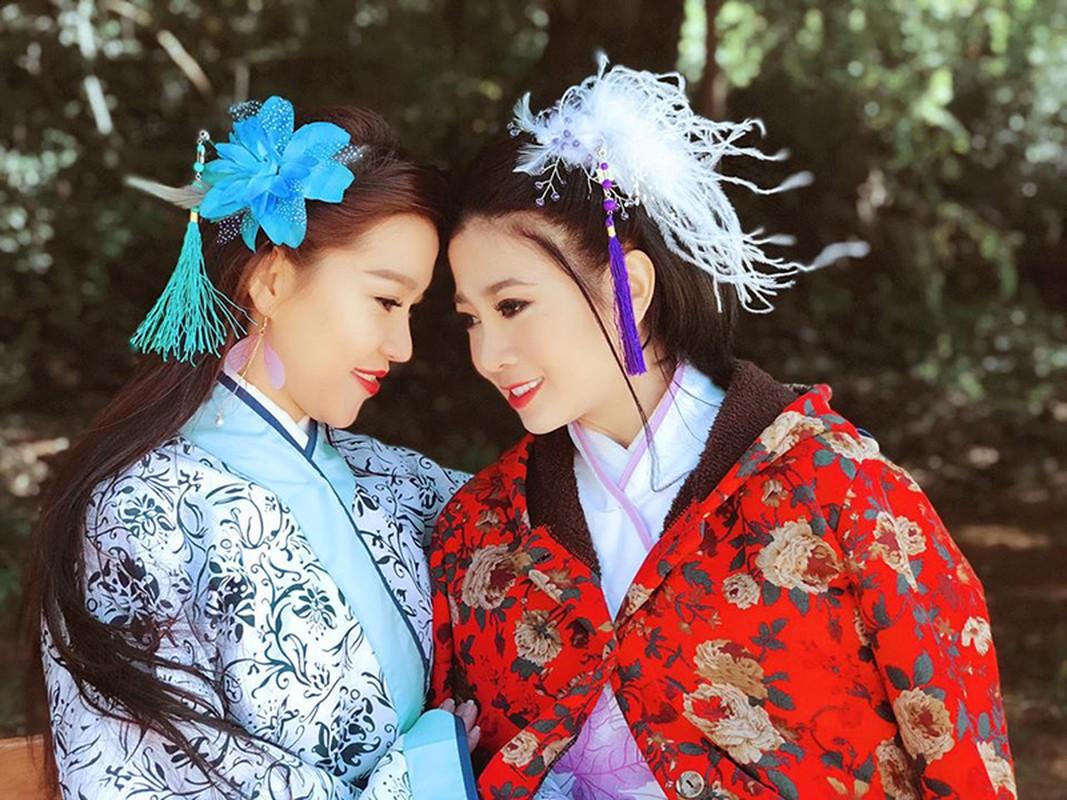 Chan dung nguoi cung Mai Phuong di qua sinh tu, song tron ven nghia tinh