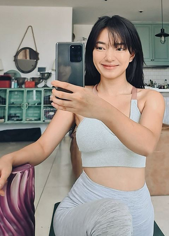 Cuoc song cua Tien Nguyen va loat my nhan Viet hau cach ly-Hinh-9