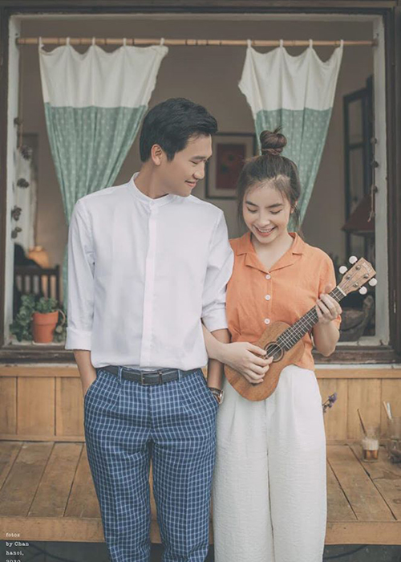 """Loat anh tinh tu cua Xuan Nghi va hot girl """"Nha tro Balanha""""-Hinh-3"""