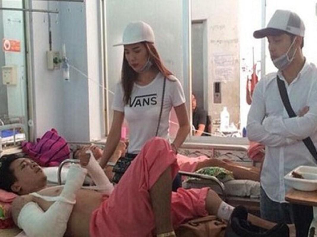 Thanh Binh vo sun goi, loat sao gap tai nan tham tren phim truong-Hinh-11